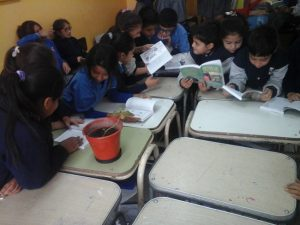Alumnos de Escuela San Juan Pablo II, Córdoba